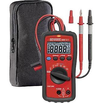 Handheld multimeter digital Benning BENNING MM 5-1 CAT III 600 V, CAT IV 300 V Display (counts): 6000