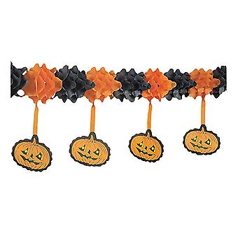 Rubie's Wreath Hung Pumpkins. 4M (Costumes)