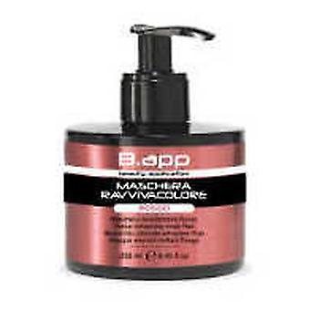 B.App BAPP Color Red Mask 250 Ml (Woman , Hair Care , Conditioners and masks)