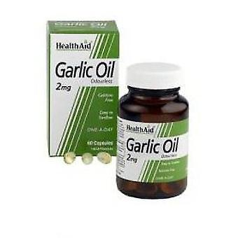 Health Aid Natural Garlic Oil 60 Capsules (Vitamins & supplements , Special supplements)