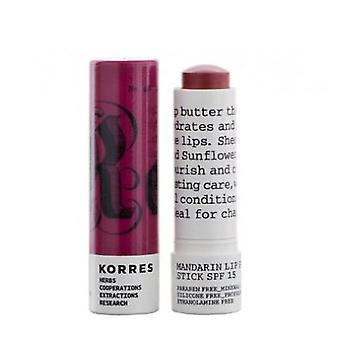 Korres Lip Stick Spf15 Purpura (Woman , Cosmetics , Skin Care , Eyes and lips)