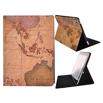 Kaart wereld, ondersteund-iPad 2 en 3 dekken