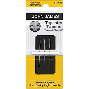 Tapestry Tweens Hand Needles-Size 23 3/Pkg JJ198T-23