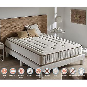 Matelas viscoélastique luxe confort Cachemire hauteur 26 cm (+/-2cm) 105_x_200 cm