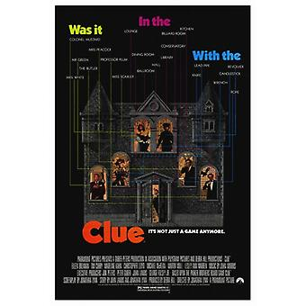 Clue Movie Poster Print (27 x 40)