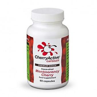 تشيرياكتيفي-100% Montmorency 60Vcaps الكرز