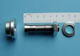 Steel-Collet Chuck (lg), for 8,0mm axle