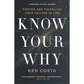 Know Your Why by Ken Costa