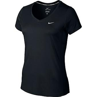 Nike Dri-FIT Miler V-Neck Tee Womens