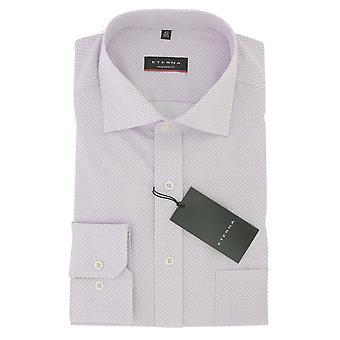 ETERNA men's business shirt modern fit with Kent collar cotton Gr. 44 Rosa