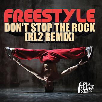 Freestyle - Don't Stop Rock (Kl2 Remix) USA import