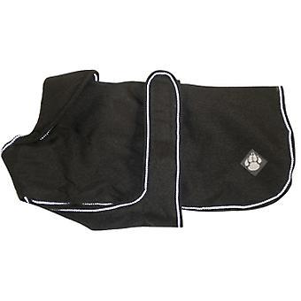 Luksus jakke Ebony vandtæt hunde frakke 75cm (30