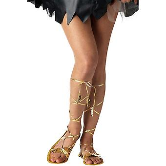 Goddess Greek Roman Egyptian Cleopatra Costume Sandals 5 - 6
