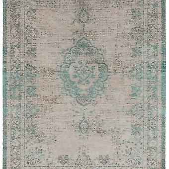 Distressed Jade Oyster Cotton Medallion Rug - Louis De Poortere 230x230
