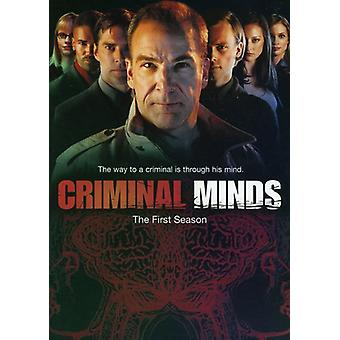 Criminal Minds - Criminal Minds: Staffel 1 [DVD] USA Import