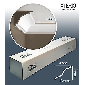 ORAC decor C820 XTERIO 1 box SET with 8 strips of corner mouldings | 19.52 m