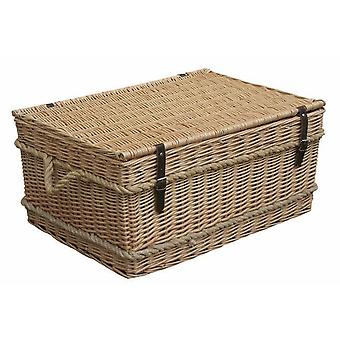 72cm Rope Handled Trunk Picnic Basket