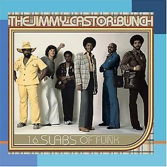 Jimmy Castor Bunch - 16 platen van Funk [CD] USA importeren