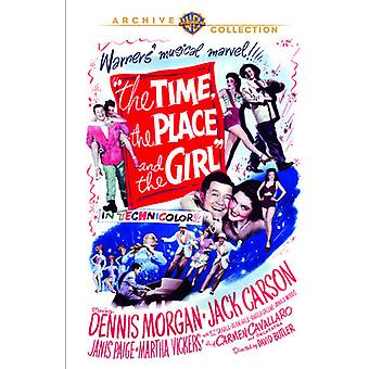 Time the Place & the Girl [DVD] USA import