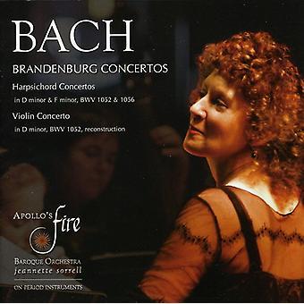 J.S. Bach - Bach: Brandenburg koncerter; Cembalo koncerter; Violin Concerto [CD] USA import