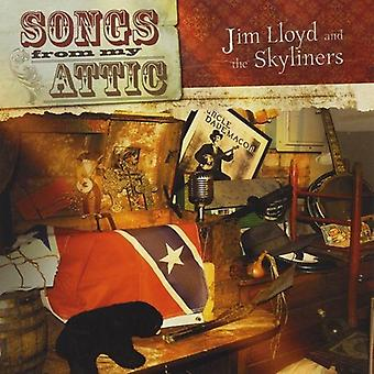 Jim Lloyd & the Skyliners - Songs From My Attic [CD] USA import