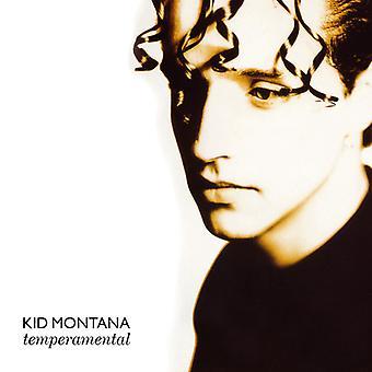 Kid Montana - temperamentsfuld + singler [CD] USA importerer