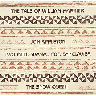 Jon Appleton - Two Melodramas for Synclavier [CD] USA import
