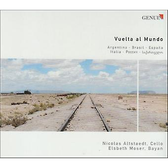 Piazzolla/Villa-Lobos/Falla; -Importar de USA Vuelta Al Mundo [CD]