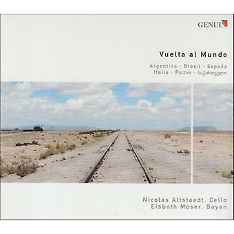 Piazzolla/Villa-Lobos/Falla; -Vuelta Al Mundo [CD] USA importerer