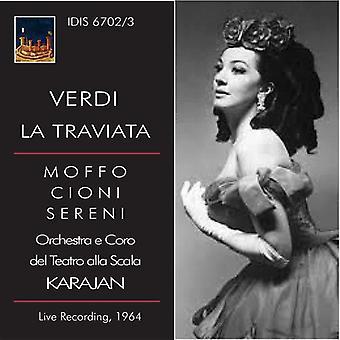 Verdi / Karajan / Lascala orkester & Chorus - La Traviata [CD] USA import
