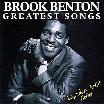 Brook Benton - importación de los E.e.u.u. más grandes canciones [CD]