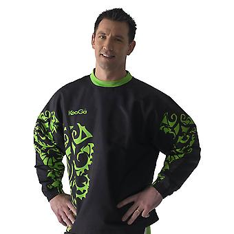 KOOGA tour vortex warm up top [black/green]