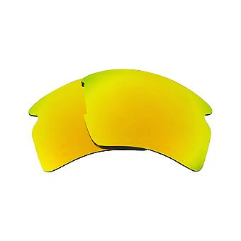 Best SEEK Polarized Replacement Lenses for Oakley FLAK 2.0 XL 24K Gold Mirror