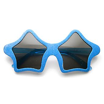 Star Shape Colorful Fun Novelty Party Glitter Superstar Sunglasses