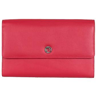 Pierre Cardin Four Gusset Travel Purse - Red