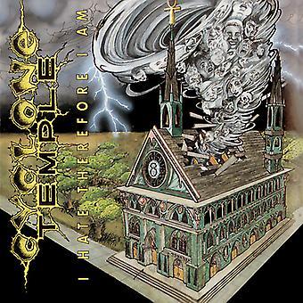 Cyklonen tempel - jeg hader derfor jeg er [CD] USA importerer