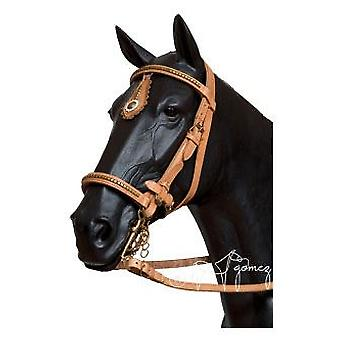 Hermanos Gómez Bridle Reins Type Perrillo with Brown