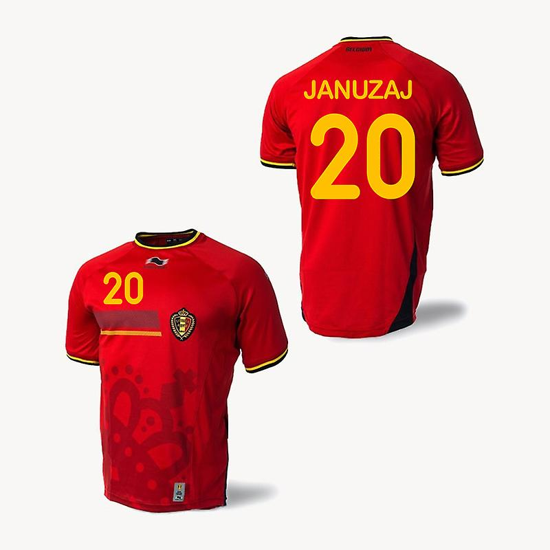 2014-15 Belgien World Cup Home-Hemd (Januzaj 20) - Kids