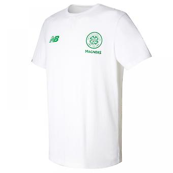 2017-2018 Celtic Media Training Cotton Tee (White)
