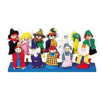 Goki Assortment of fingerpuppets , Set 2 (Toys , Preschool , Theatre And Puppets)