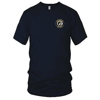 E.U. da Marinha USS DD-878 Vesole bordada Patch - Mens T-Shirt