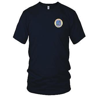 US Navy Naval Air Station Bermuda gestickt Patch - Weg, aber nicht vergessene Herren-T-Shirt