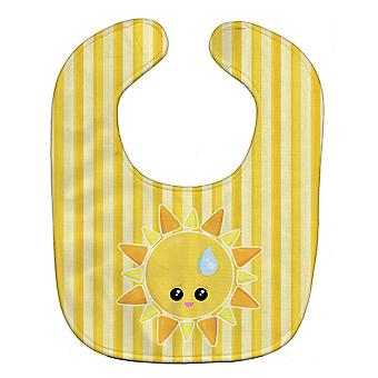Carolines schatten BB7150BIB weer zon strooi gezicht Baby slabbetje