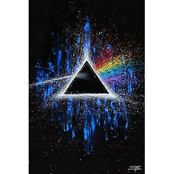 PINK FLOYD Dark Side of the Moon Color Corrected Poster Poster Print