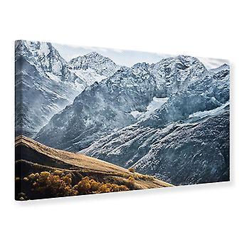 Impresión de lienzo gigantesco cumbres