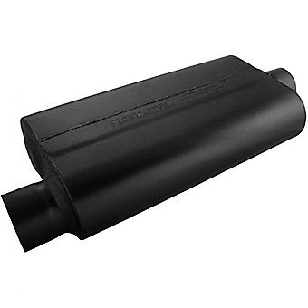 Flowmaster 843051 50 Delta Muffler 409S - 3.00 Offset IN / 3.00 Center OUT - Moderate Sound