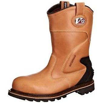 V12 V1250 Tomahawk Vintage Leather Waterproof Rigger Boot Size 10