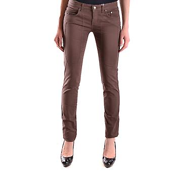 Enterprise women's MCBI162003O Brown cotton of jeans