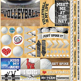 Volleyball 2 Elements Stickers 12