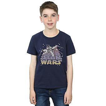 Star Wars Boys X-Wing Starfighter T-Shirt